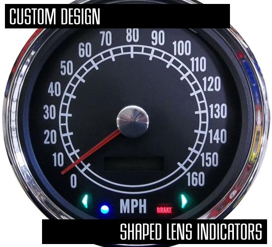 add warning lamps gauges